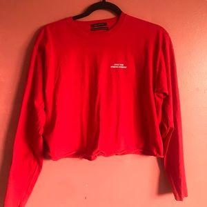 Urban Outfitters Red Sweatshirt